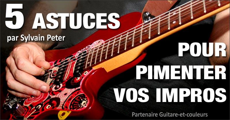 5 astuces pour pimenter vos improvisations à la guitare