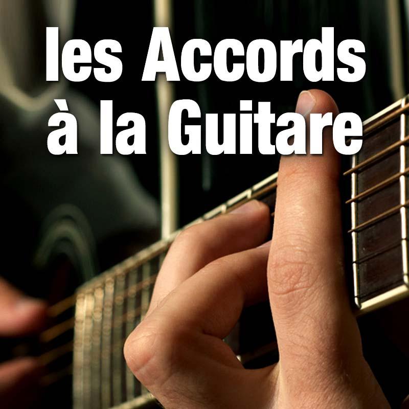 Las accords à la guitare