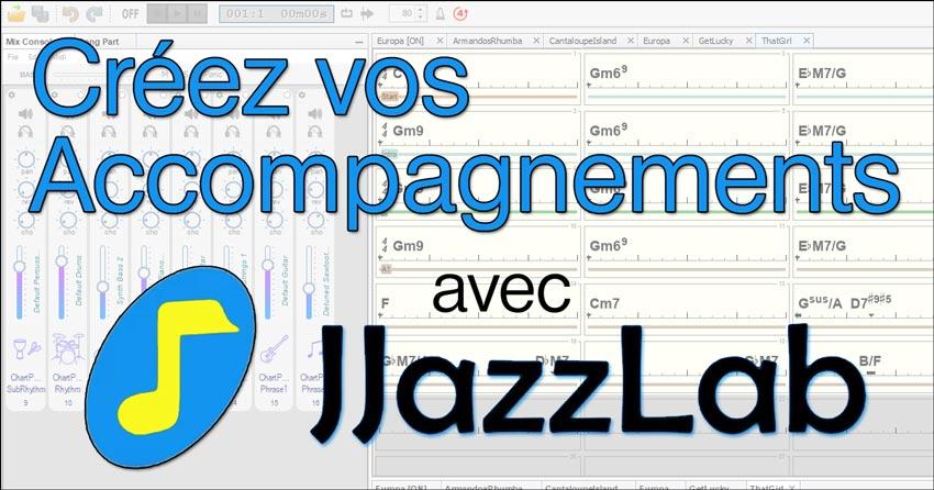 Créez des accompagnements avec JJazzLab