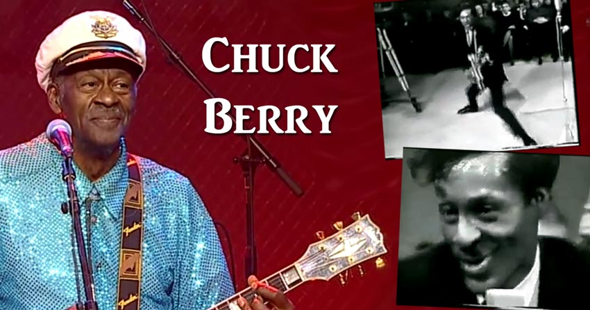 Hommage à Chuck Berry, guitariste de légende et pionnier du rock and roll