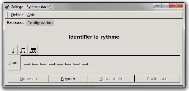 Apprenez à entendre le rythme en vous amusant avec GNU Solfège