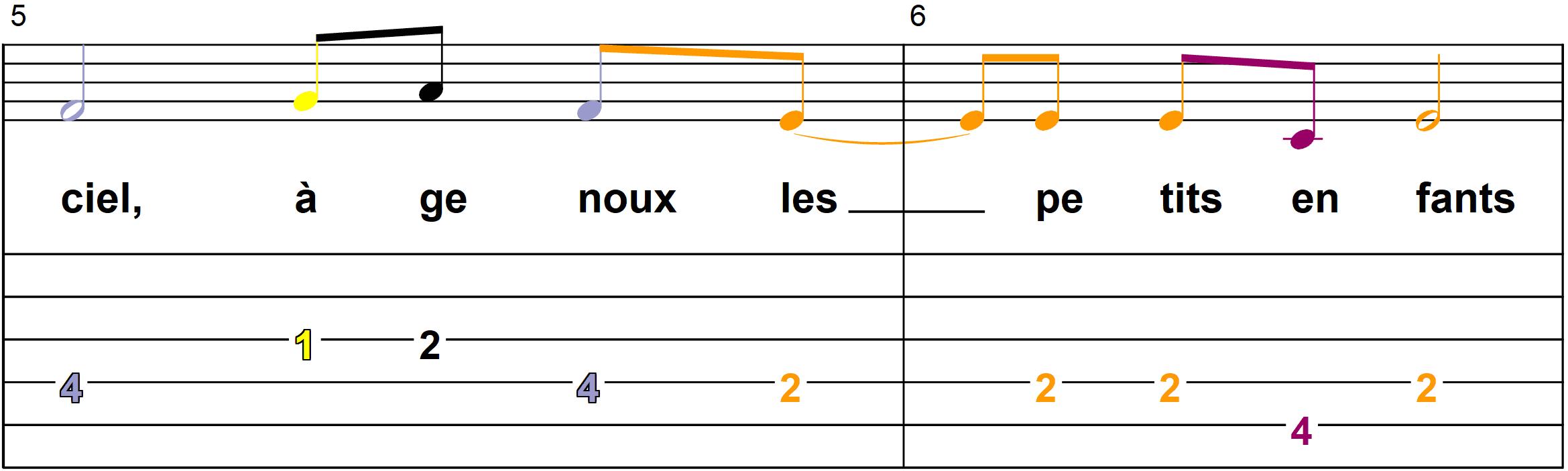 Petit Papa Noel - Mélodie du couplet A - Page 3