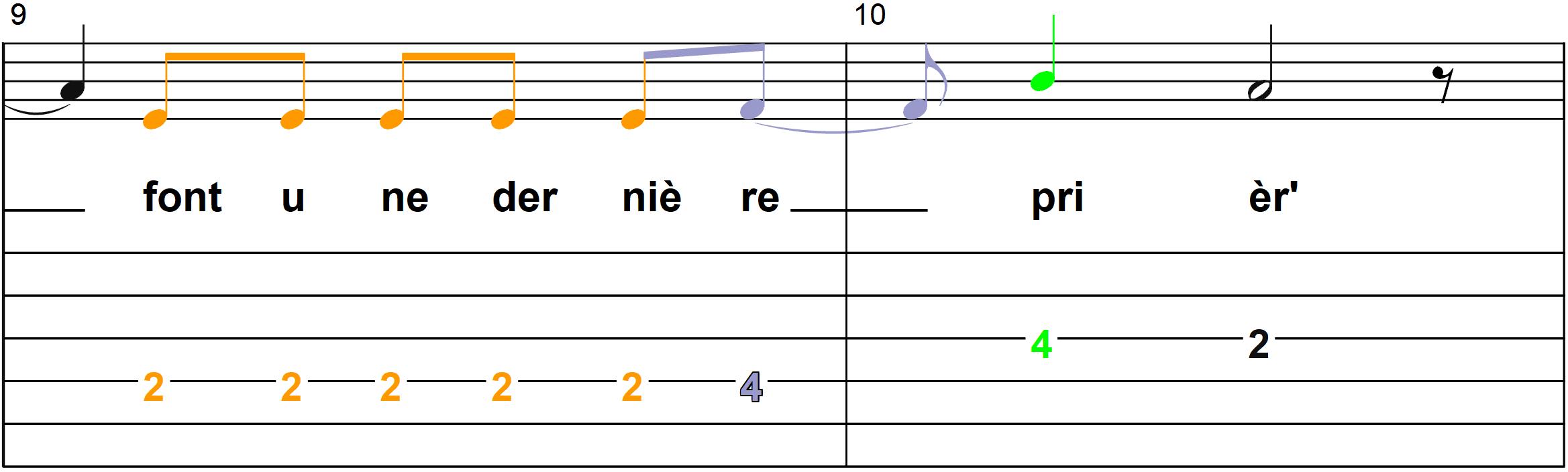 Petit Papa Noel - Mélodie du couplet A - Page 5