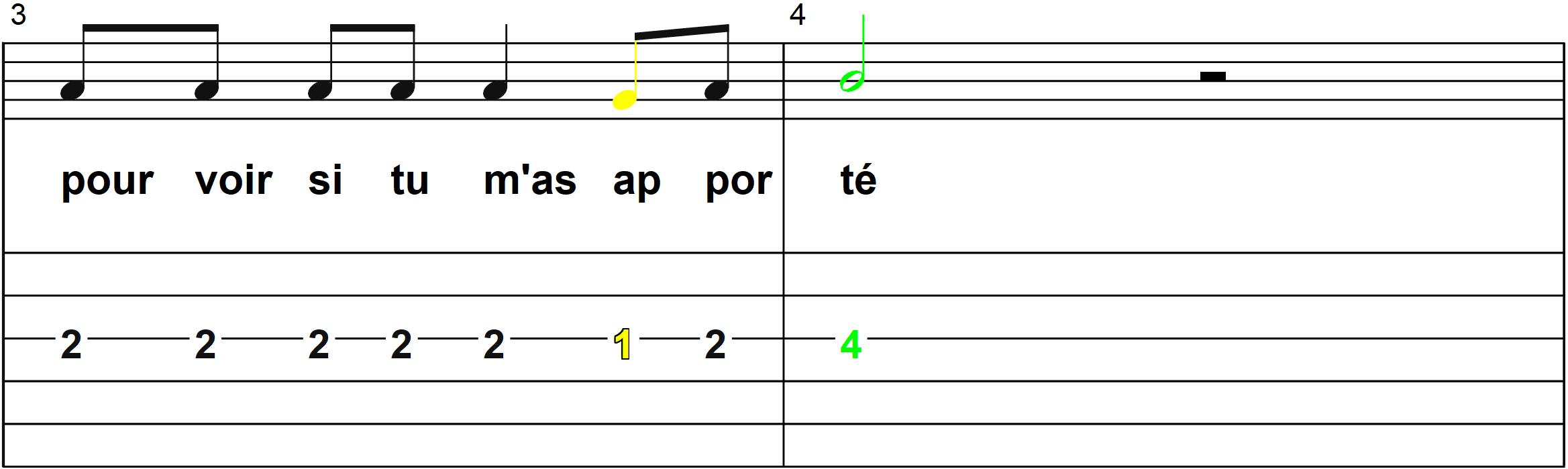 Petit Papa Noel - Mélodie du couplet B - Page 2