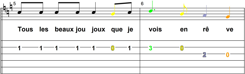 Petit Papa Noel - Mélodie du couplet B - Page 3