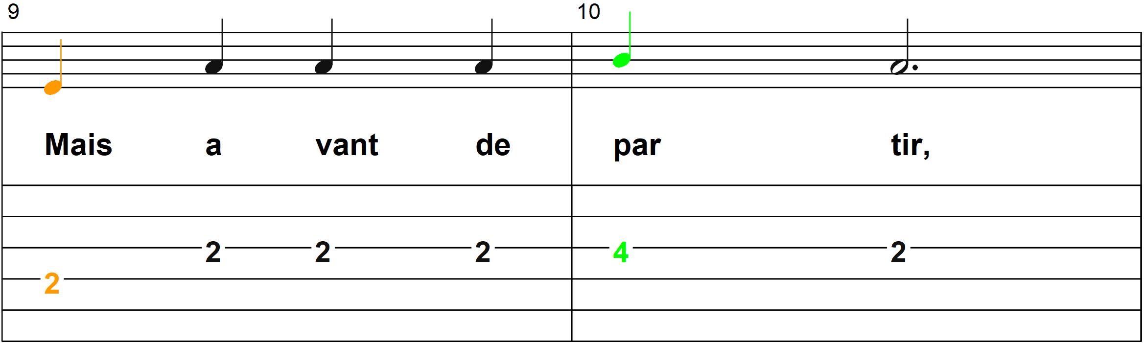 Petit Papa Noel - Mélodie du refrain - Page 5