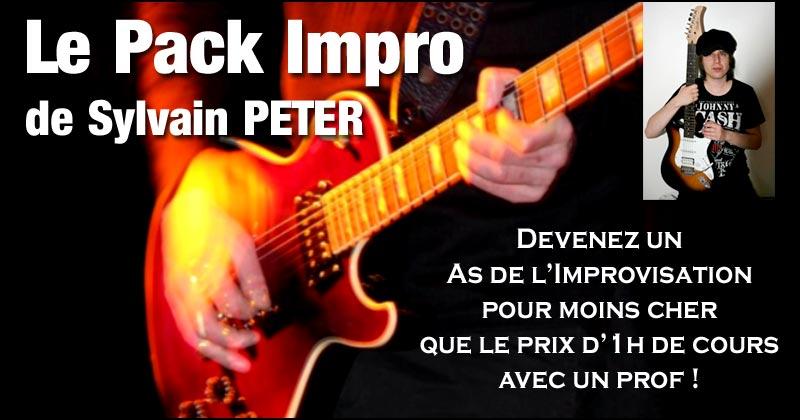 Le Pack Impro de Sylvain Peter