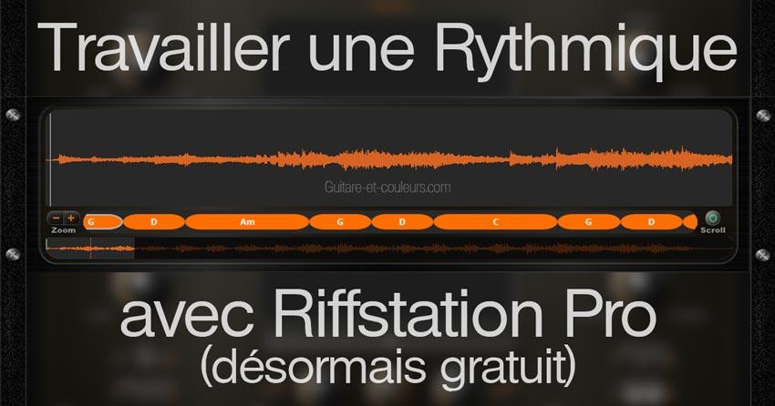 Travailler une Rythmique avec Riffstation Pro. Exemple avec Knockin' On Heaven's Door de Bob Dylan.