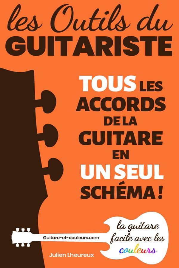 Les Outils du Guitariste. TOUS les accords de la guitare en UN SEUL schéma!