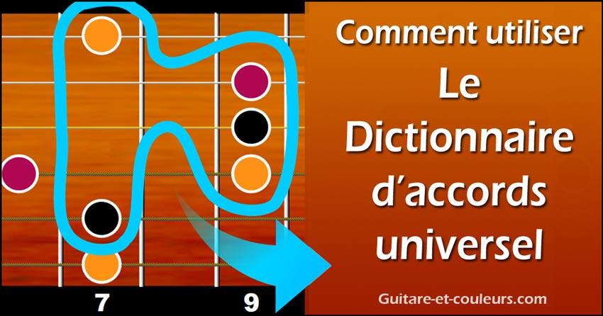 Comment utiliser le Dictionnaire d'accords universel (versions light ou intégrale)