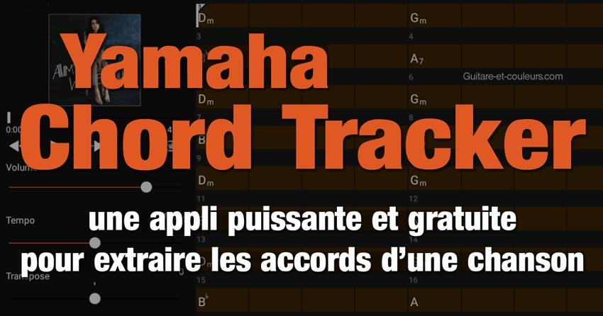 Tutoriel Yamaha Chord Tracker : une appli puissante et gratuite pour extraire les accords d'une chanson