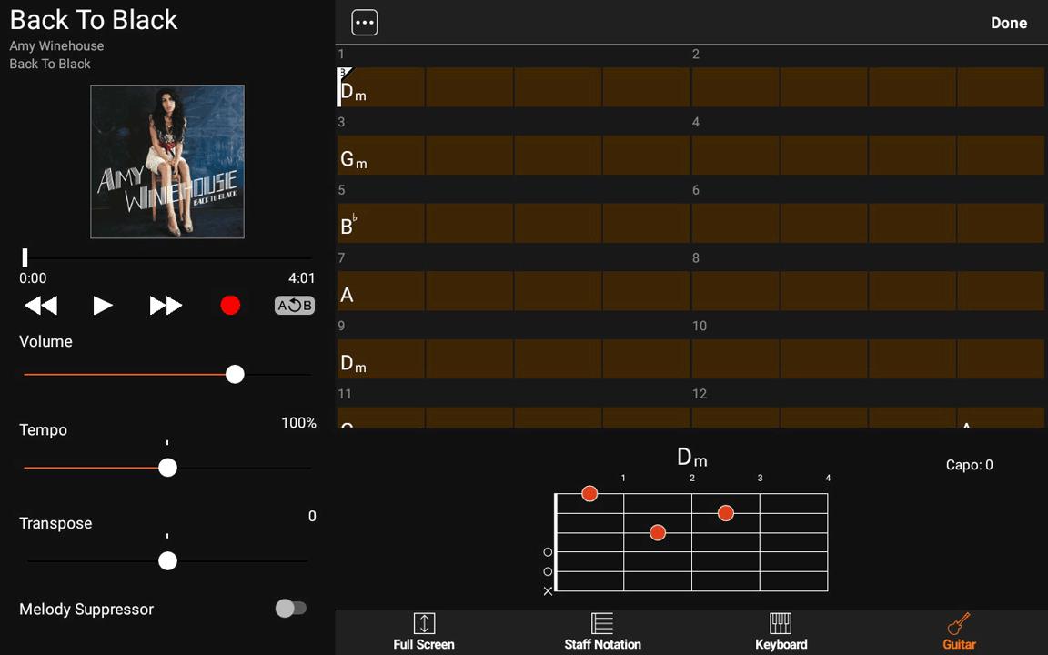 Yamaha Chord Tracker - Tempo x2