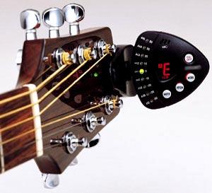 Accordeur de guitare à clip 1