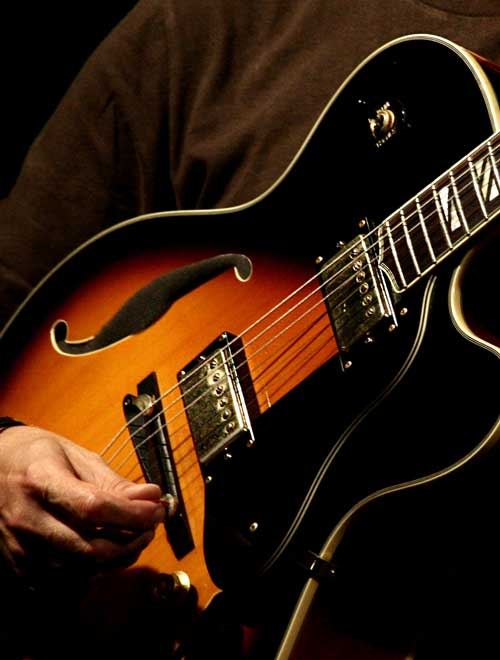 Le blues facile à la guitare