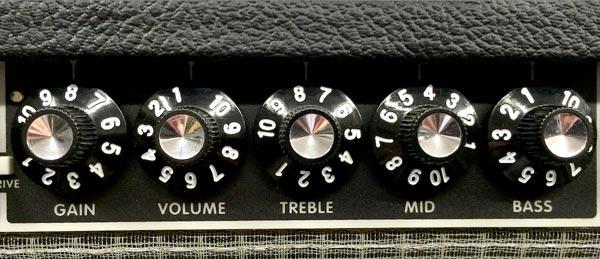 ampli guitare réglages