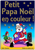 Apprenez à jouer Petit Papa Noël à la guitare… mais pas seulement !