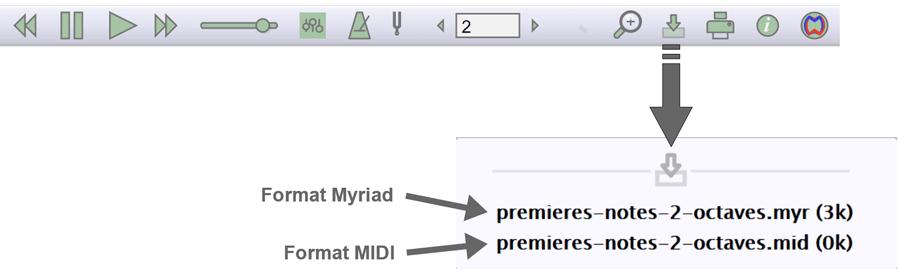 Exportation de fichiers du lecteur de partition