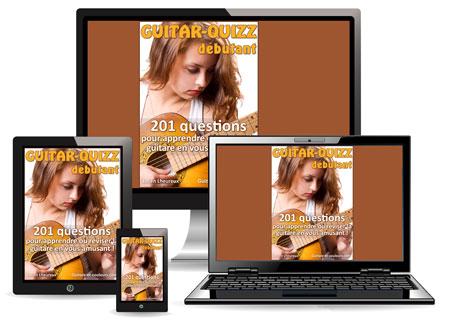 Guitar-Quiz niveau débutant – 201 questions pour apprendre ou réviser la guitare en vous amusant !