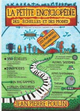 La petite encyclopédie des échelles et des modes de Jean-Pierre Poulin