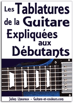 Les tablatures de la guitare expliquées aux débutants