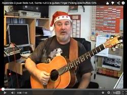 Joyeux Noël sur Guitare-et-couleurs !
