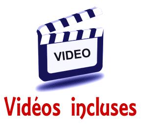 Vidéos incluses